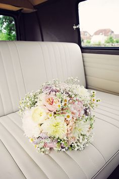VW wedding - flowers
