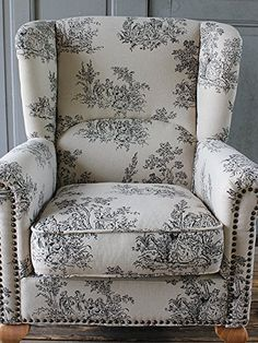 Amazon.co.jp : ウィングバックソファ 一人掛け トワレ柄 VW1F84N : ホーム&キッチン Wingback Chair, Armchair, Furniture Styles, Accent Chairs, Interior, Room, Home Decor, Couches, Sofa Chair