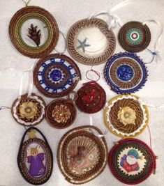 Maine Thread Company Pine Needle Crafts, Pine Cone Crafts, Rope Rug, Pine Needle Baskets, Pine Needles, Gourds, Pine Cones, Basket Weaving, Holiday Ideas