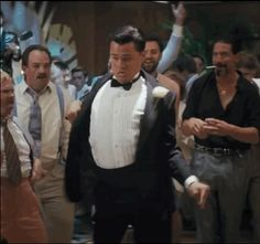 """LEO ACTUALLY DANCES LIKE THIS. 
