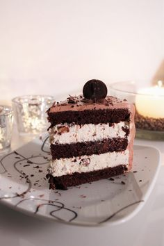 Sweet Desserts, Vegan Desserts, Delicious Desserts, Yummy Food, Baking Recipes, Cake Recipes, Finnish Recipes, Sweet Bakery, Best Chocolate Cake
