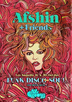 Afshin poster by subgrafik