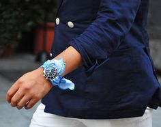 Scarf As A Watch Strap–Hermes Twilly Watch