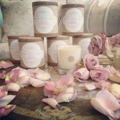 Tuberose candle by Linneas Lights now available at Shabby Chic Notting Hill.