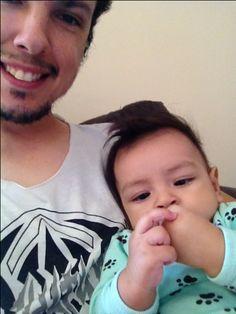 Eu amo minha mãozinha papai. #davi #amor #filho #familia #paixaodopapai