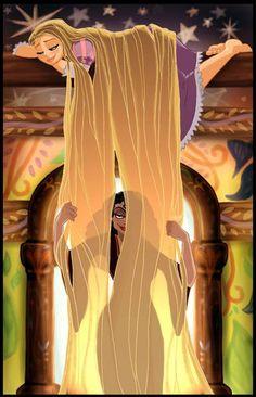 Tangled Rapunzel Hot | RAPUNZEL & GOTHEL ~ Tangled Fan Art