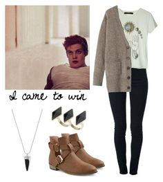 """""""Isaac Lahey - tw / teen wolf"""" by shadyannon ❤ liked on Polyvore featuring STELLA McCARTNEY, Vince Camuto, GUESS, Something Else and Toast"""