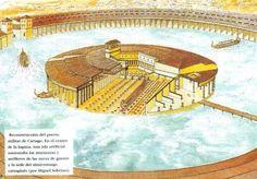 http://hannibalbarca.webspace.virginmedia.com/Graphics/carthage-port-reconstruction.jpg