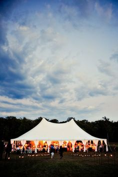 Classy Tent style bash