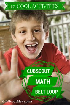 Cub Scout Belt Loops give the boys new experiences.  Check out 10 ways to help meet the Mathematics Belt Loop requirements.