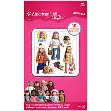 American Girl Crafts Historical Girls Sticker Pad