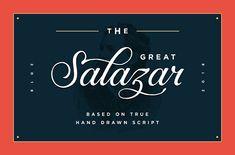 Salazar - Lettering
