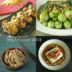 September 2013 Recipes - a collection of recipes using Tianjin preserved vegetable