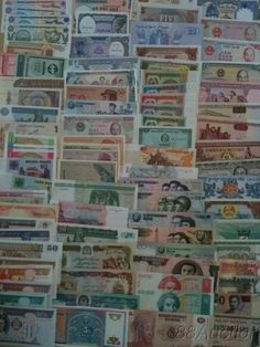 Build up your collection with 100 different banknotes for all over the world for only $45! Random collections will come with rare notes that could be worth 100's alone.