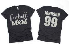 Football Mom Shirt- Mom Shirts- football shirts- football- football T-shirt Source by abadinfluencedesigns T-Shirts Sports Mom Shirts, Softball Mom Shirts, Cheer Shirts, Football Shirts, Football Girlfriend Shirts, Football Sister, Volleyball Mom, Football Outfits, Baseball Shirts
