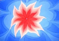 Postupnim smanjivanjem osnovnog oblika ostvaren je pokret i danamika u kompoziciji.