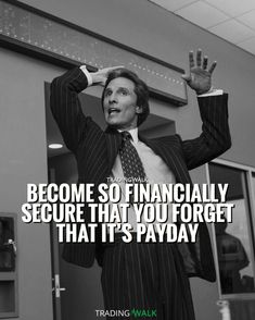 Become so financially secure that you forget that it�s payday! #forex #trading