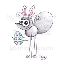 Easter Ant <3