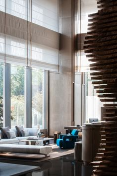 InterContinental Xi'an North by CCD/Cheng Chung Design | Hotel interiors Lobby Lounge, Hotel Lobby, Lobby Bar, Floor Slab, Modern Interior, Interior Design, Lobby Interior, Canopy Outdoor, Open Layout
