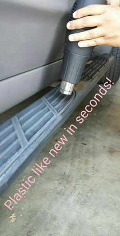 Plastic Restoration in Seconds!