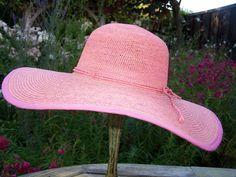 Raffia Hat, Fair Trade, Jute, Crochet, Fashion, Moda, Fashion Styles, Ganchillo, Crocheting