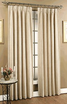 How to Extend Double Traverse Curtain Rod — Cento Ventesimo Decor Pinch Pleat Curtains, Pleated Curtains, Velvet Curtains, Lined Curtains, Silk Drapes, Blackout Curtains, Drapery, Thermal Drapes, Drapes And Blinds