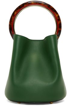 Marni - Green Mini Pannier Bag