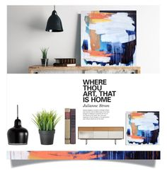 """""""Where thou art"""" by sharmarie ❤ liked on Polyvore featuring interior, interiors, interior design, home, home decor, interior decorating and Artek"""