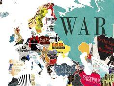 Εκπληκτικός λογοτεχνικός χάρτης, δείχνει το σημαντικότερο βιβλίο κάθε χώρας. Την Ελλάδα «εκπροσωπεί το…