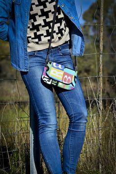 Mini-bag neo-eighties style 1 www.vanessavanhandmade.etsy.com
