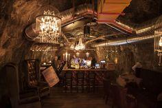 Kufstein Stollen1930 Die Bar New York, London, Paris, Chandelier, Ceiling Lights, Lighting, Home Decor, New York City, Montmartre Paris