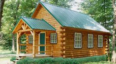 You'll love living in the 1-1/2 story Indian Trail log home on the weekends or everyday! 779 sq. ft. with 2 bedrooms and 1 bath - quaint and charming!