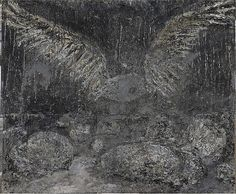 San Loreto, 2001. Kiefer's spirituality is not the sunny kind; he is attracted to the angriest of the Hebrew prophets, and his angels seem indistinguishable from demons.