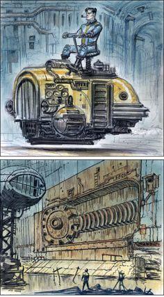 All sizes | VTunnel17 | Flickr - Photo Sharing! Fallout Concept Art, Fallout Art, Fallout New Vegas, Bioshock Cosplay, Apocalypse Art, Airplane Art, Retro Futurism, Dieselpunk, Mortal Kombat