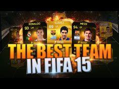 FIFA 15 BEST TEAM w/ LUIS SUAREZ