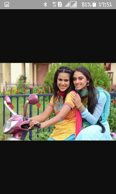 Jeevika and manvi