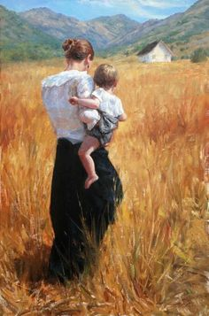 Kai Fine Art is an art website, shows painting and illustration works all over the world. Paintings I Love, Beautiful Paintings, Tree Paintings, Mother Art, Fine Art, Aesthetic Art, Oeuvre D'art, Painting & Drawing, Cave Painting