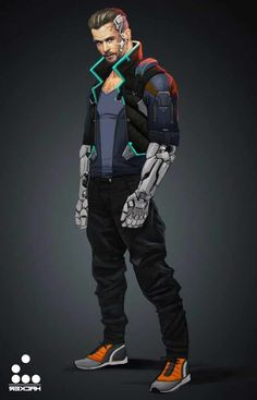 20 Fantastic Cyberpunk Character Concept Arts, Inspirations & Designs - Do It Before Me #characterart 20 Fantastic Cyberpunk  Character Concept Art, Inspiration & Design, Cyberpunk is full of very deep and complex characters. The contrast with the worn inner belt which is common in the Cyberpunk art of futuristic techno..., Inspiration & Design