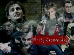 He plays evil crazy parts as well as he does normal everyday parts Barty Crouch Jr, John Mcdonald, Crowley, David Tennant, Doctor Who, Plays, Actors & Actresses, Harry Potter, Death