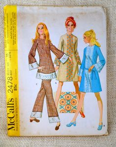 McCall's 2478Vintage sewing pattern bell by momandpopcultureshop