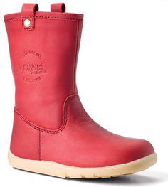 Bobux i-Walk Splash Boots - Brick Red Exclusive to Bobux - Splashtex™ Leather NEW - IN STOCK NOW