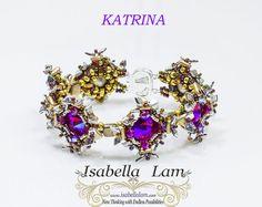 KATRINA CzechMates Two hole triangles and Dragon beads от bead4me