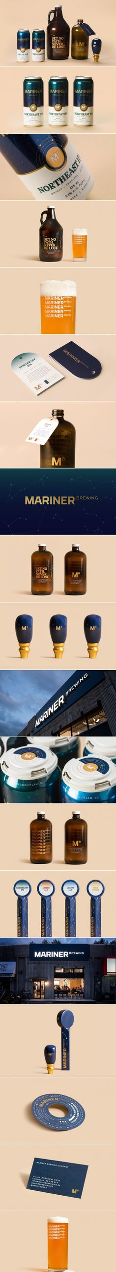 Mariner Brewing Co. Takes Inspiration From The Stars Above — The Dieline | Packaging & Branding Design & Innovation News