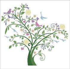 Albero dei Ricordi (Tree of Memories) - Alessandra Adelaide Needleworks Sale Price: $15.30