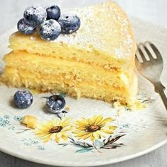 Lemon Curd Layer Cake From 'The Ginger & White Cookbook' Recipe