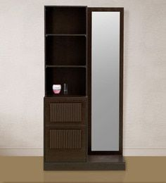 TiagoDresser with Mirror in Wenge Colour