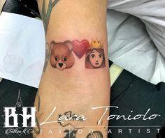 B-Hills Tattoo Company O Tattoo, Color Tattoo, Tattoo Studio, Print Tattoos, Piercing, Piercings, Body Piercings, Color Tattoos, Tattoo Colors
