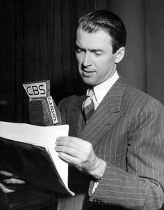 James Stewart stars in the Screen Directors Playhouse radio version of Magic Town. January, 1950