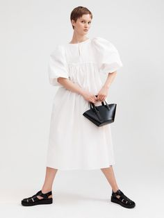 Romantic dresses meet chunky sandals | 받은메일함 | Daum 메일 Chunky Sandals, Overalls, Trousers, Normcore, Womens Fashion, Fashion Trends, My Style, Romantic Dresses, How To Wear