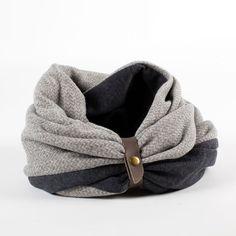 Mens scarf winter scarf infinity scarf mens winter scarf by Gazur